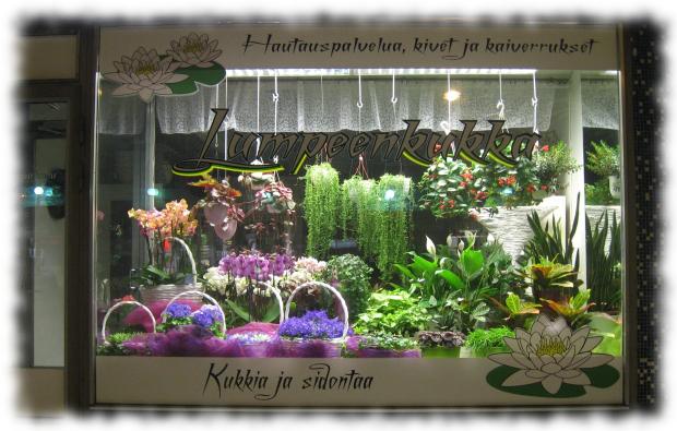 Äänekoskelainen kukkakauppa